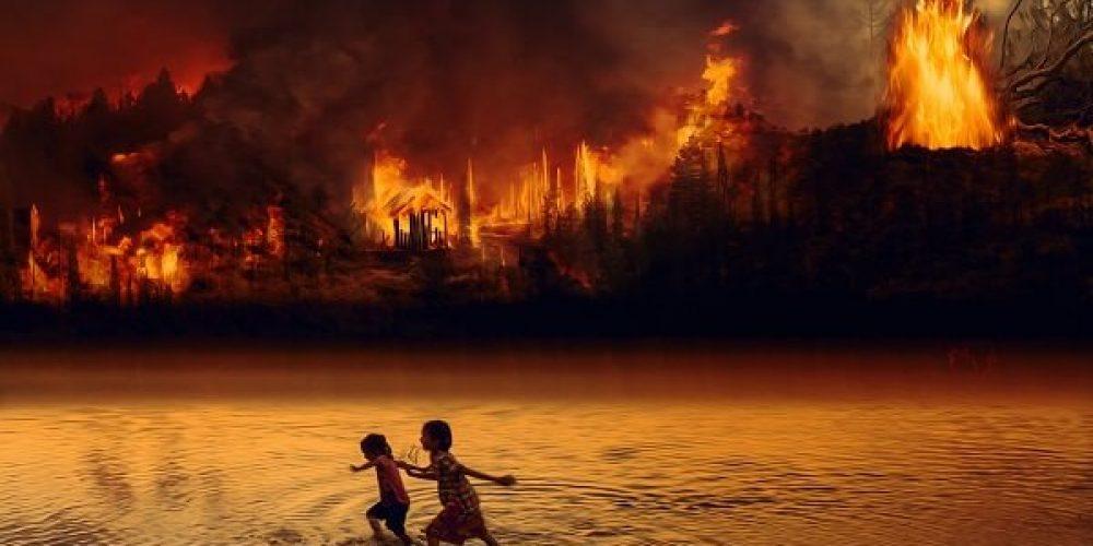 Los incendios forestales pueden envenenar el agua potable